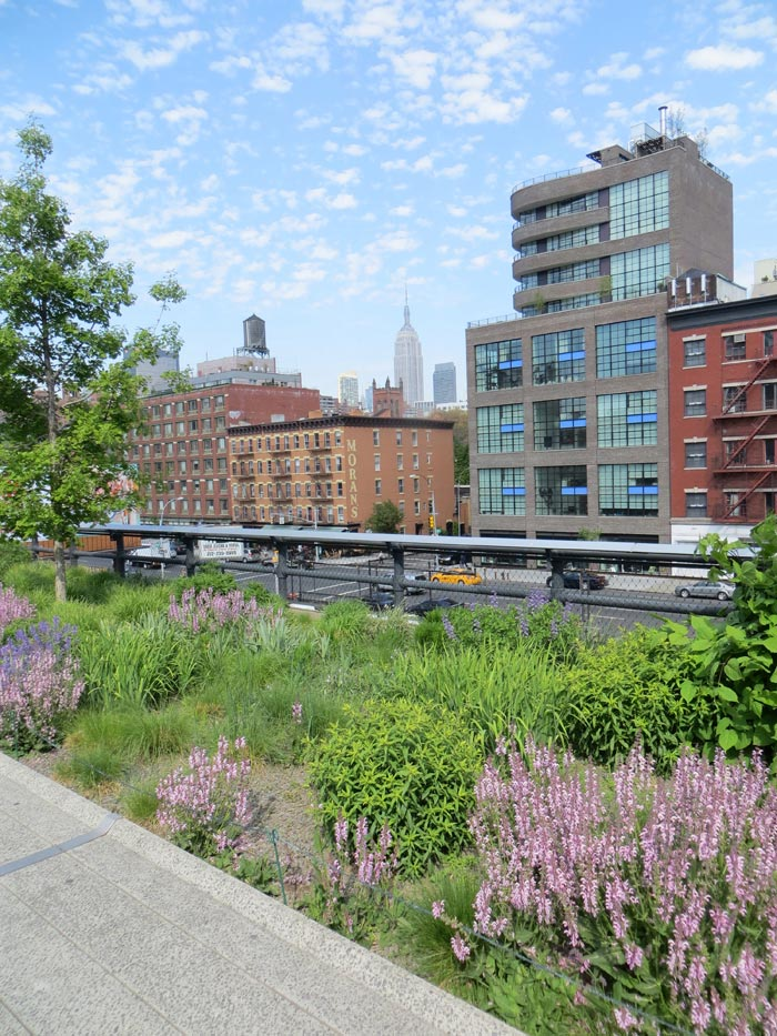 Parker i New York - High Line Park
