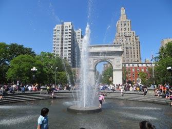 Parker i New York - Washington Square Park