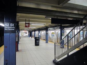 Subway i NYC - Subway-stasjon