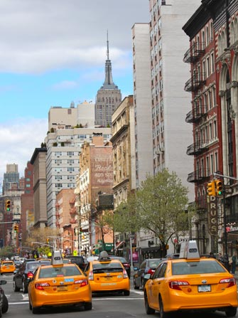 Taxi i New York - Rushtid