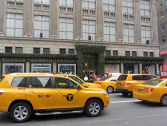 Taxi i New York - Saks