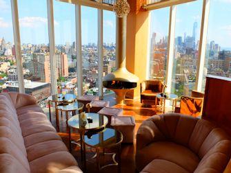 De beste rooftop barene i New York - The Top of the Standard utsikt