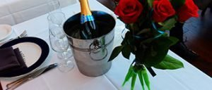Valentines-cruise med middag i New York