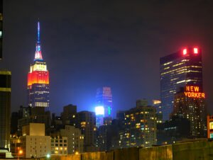 4th of July i New York - Empire State Building