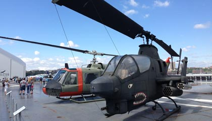 Intrepid Sea, Air and Space Museum i New York - Helikopter