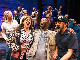 Come From Away Broadway tickets - Skuespillere