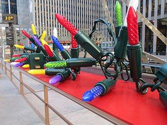 Julen i New York - Dekorasjoner