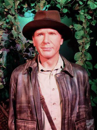 Madame Tussauds i New York - Harrison Ford