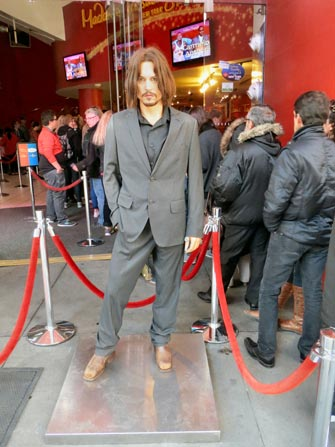 Madame Tussauds i New York - Johnny Depp
