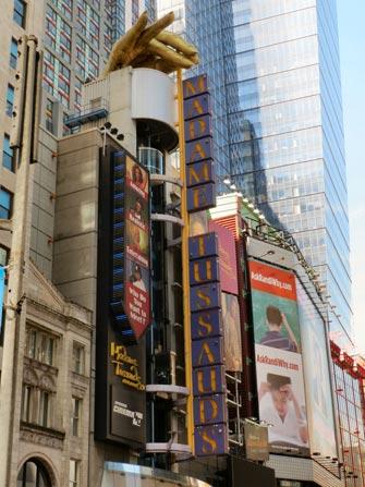 Madame Tussauds i New York - Voksmuseum