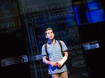 Dear Evan Hansen Broadway tickets - Music Box Theatre