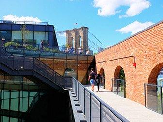 Brooklyn Bridge Park i New York - Empire Stores Tak