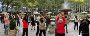 Gratis Tai Chi i New York
