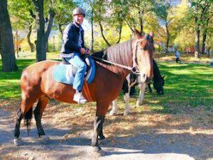 Horseback Riding i Central Park