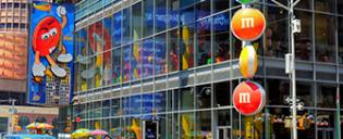 M&M's Store på Times Square