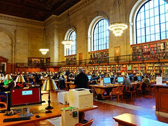 New York Public Library - Innvendig