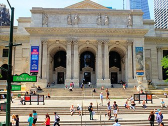 New York Public Library - Utvendig