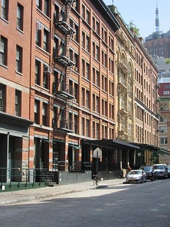 Tribeca i New York - Bygninger