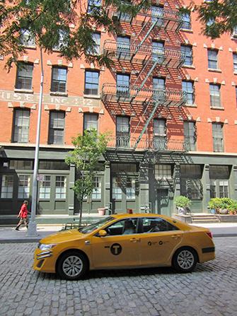 Tribeca i New York - Taxi