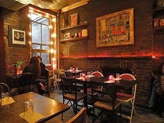 De beste stedene for kaffe og bagels i New York - MUD Bagel Bar