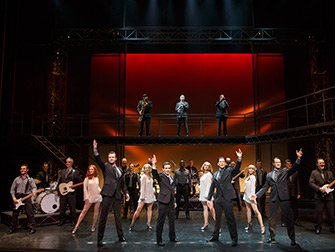 Jersey Boys i New York Tickets - Skuespillerne