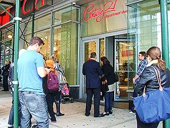 Outlets i New York - Utenfor butikken