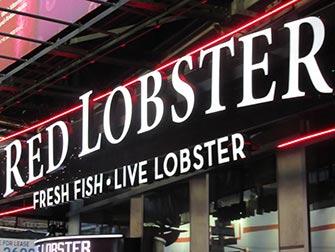Spise ute med barn i New York - Red Lobster