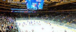 Dra på en New York Rangers kamp