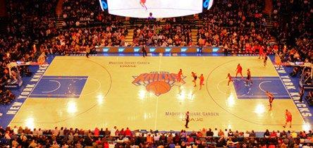 Gå på Knicks-kamp