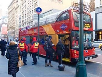 New York Sightseeing Day Pass - Hop-on Hop-off buss