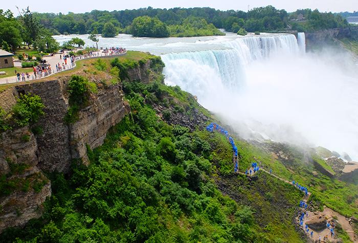 New York til Niagara Falls dagstur med buss - Utsikt