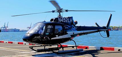 Bli med på en helikoptertur