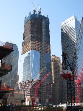 Freedom Tower i NYC - Begynnelse av konstruksjon