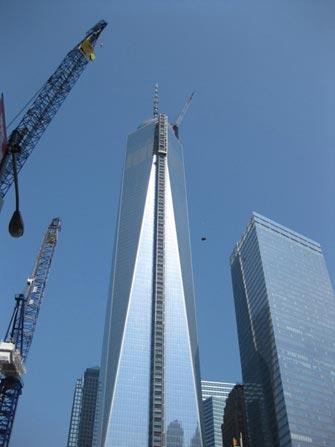 Freedom Tower i NYC - Konstruksjon
