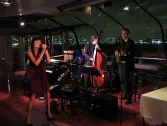 Bateaux New York cruise med middag - Live musikk