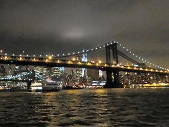 Bateaux New York cruise med middag - Utsikt
