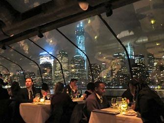 Bateaux New York cruise med middag - Utsikter