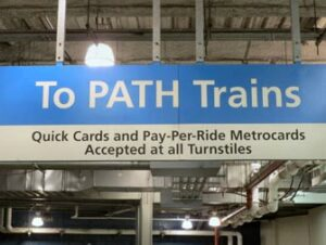 PATH mellom New Jersey og Manhattan