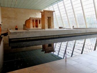 The Metropolitan Museum of Art in New York - Temple of Dendur