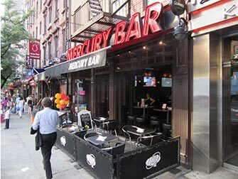 Utelivet i Midtown New York - Mercury Sportsbar