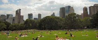 New Yorkere i Central Park