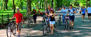 Guidet e-sykkeltur i New York